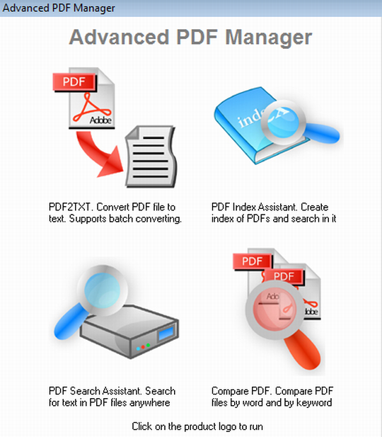 Index your pdf files